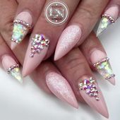 Photo of Trendy Nude Stiletto Nails Art 21 Fab and Stylish Nude Stiletto Nails to B