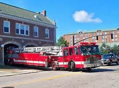 Newport RI Fire Station