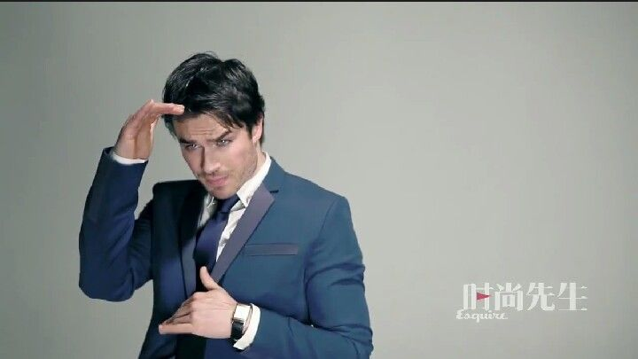 Ian for Esquire China march 2014 bts