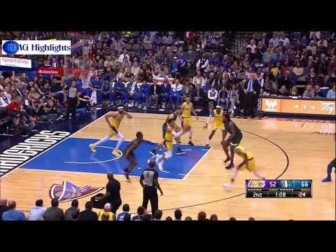 La Lakers Vs Dallas Mavericks Full Game Highlights