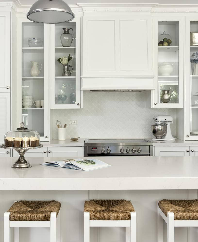 Hampton Style Kitchen Designs Glamorous Design Ideas From A Hamptons Style Kitchen Renovation In Perth Decorating Design