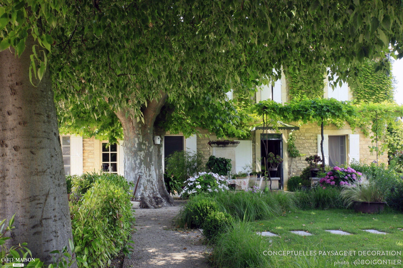 Jardin champêtre, ConceptuELLES Paysage et Décoration - Côté Maison