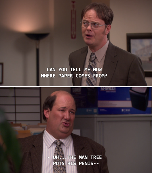When He Tried To Explain How Trees Work 18 Times Kevin Malone Was The True Star Of Office