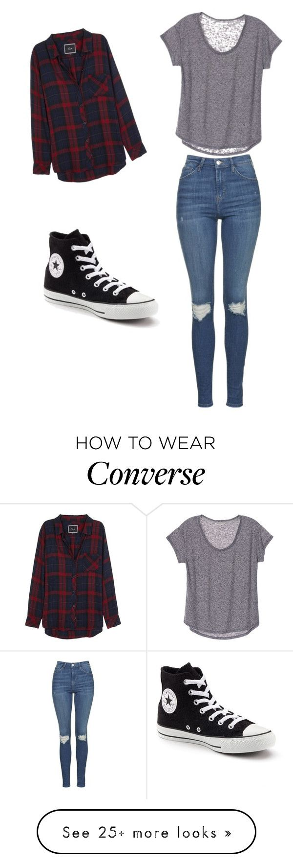 How to high wear top converse polyvore