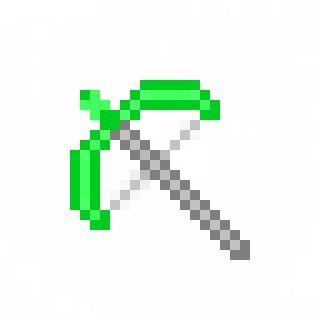 Minecraft Tools Emerald Sword ή Google Tools