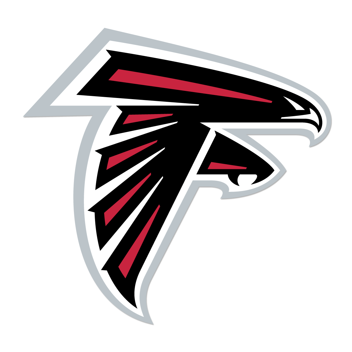 Official Website Of The Atlanta Falcons Football Club Atlanta Falcons Logo Atlanta Falcons Decal Atlanta Falcons