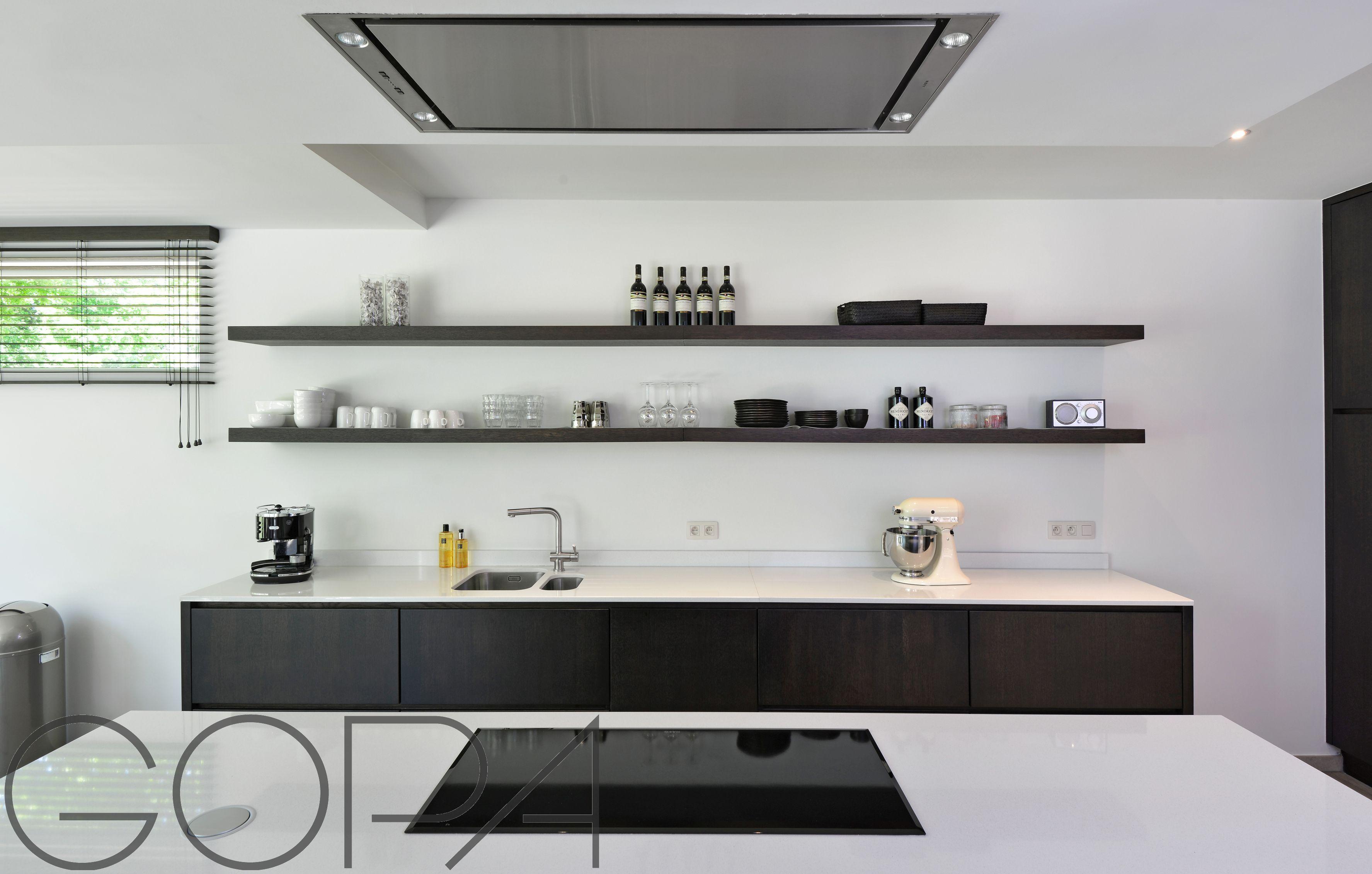 Zwart wit keuken topsujet