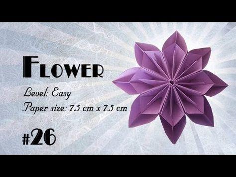 Origami tutorial how to fold origami kusudama flower step by step origami tutorial how to fold origami kusudama flower step by step diy mightylinksfo