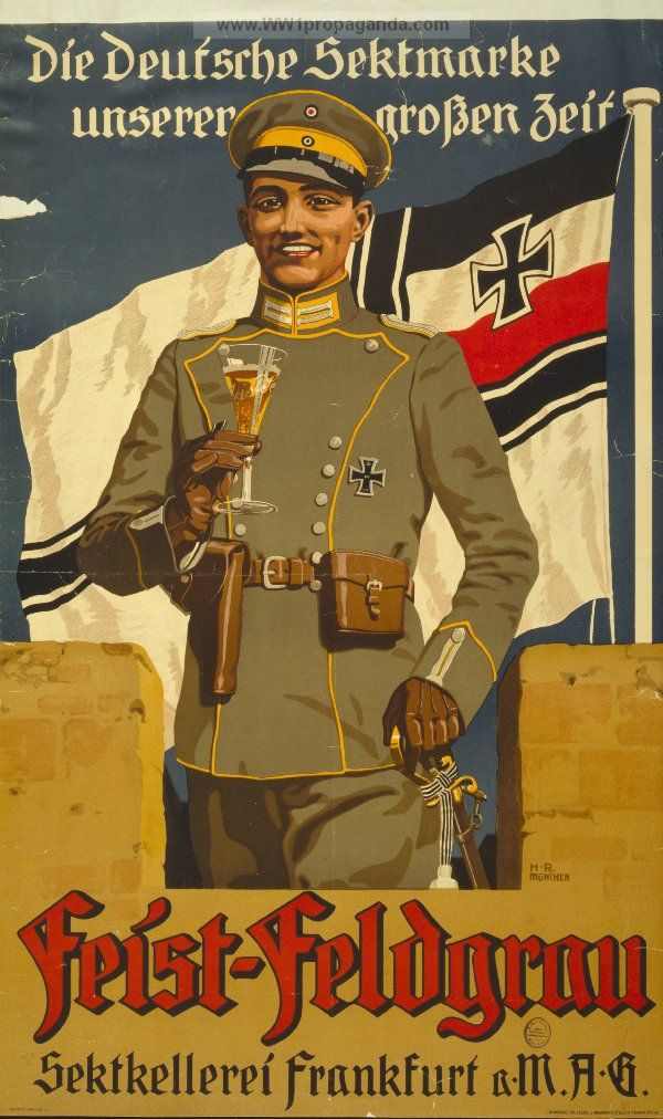 Examples of Propaganda from WW1 | German WW1 Propaganda ...