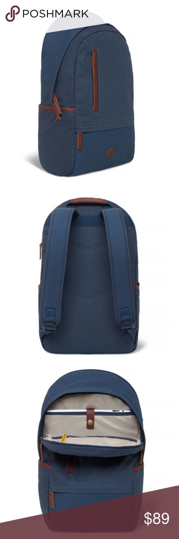 670f4723da TIMBERLAND MEN'S COHASSET CLASSIC BACKPACK - Navy - Men's Navy Backpack -  Two adjustable shoulder straps