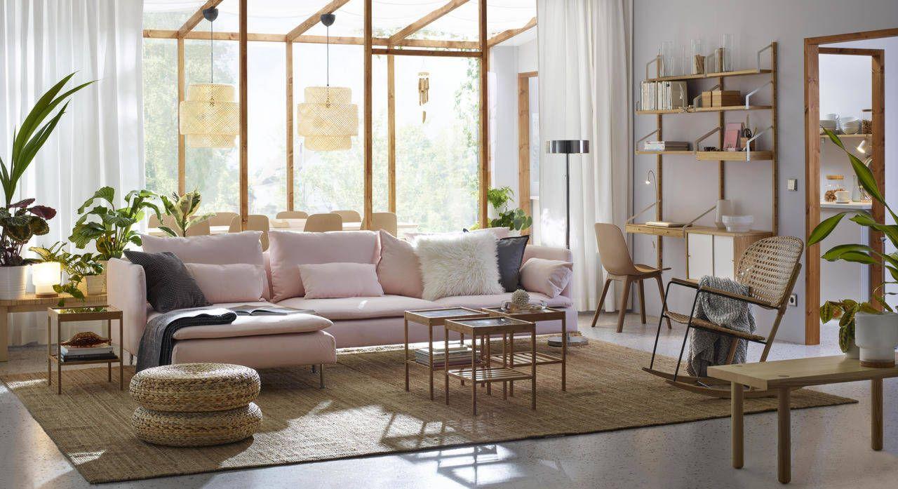Live beautifully, live sustainably Ikea living room