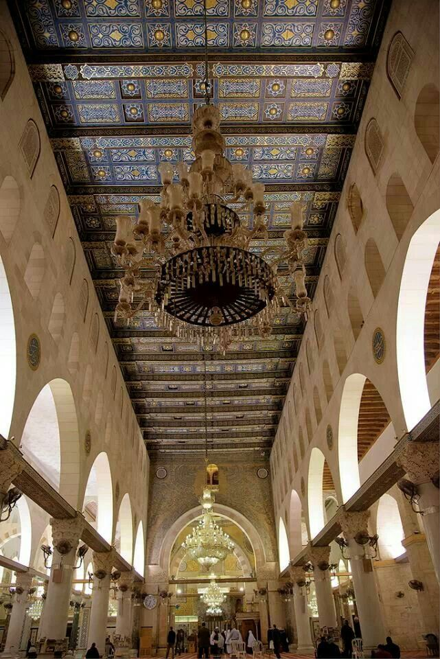 The Interior Of Al Aqsa Mosque Jerusalem Palestine Lsvye Bluedivagal Bluedivadesigns Wordpress Mosque Architecture Islamic Architecture Beautiful Mosques