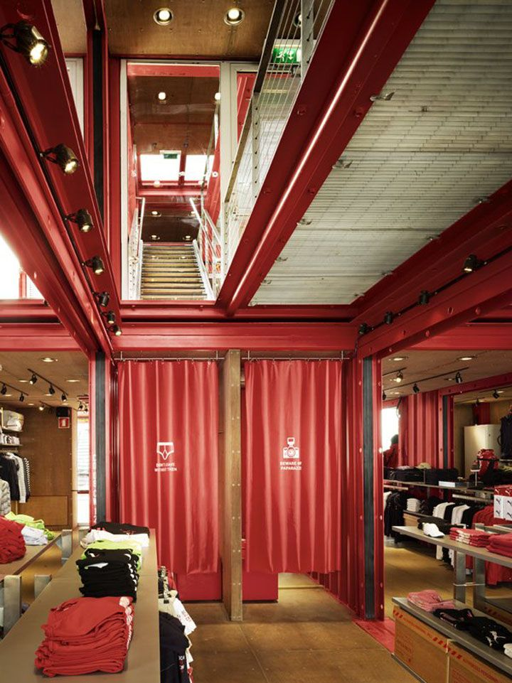 Puma City store design. Puma City store design Store Windows, Shipping  Containers, Shipping Container Homes ...