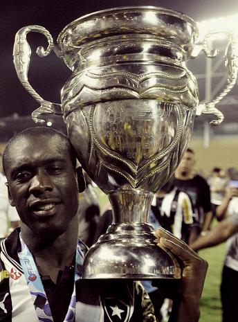 Seedorf, winner with Botafogo (Rio de Janeiro)