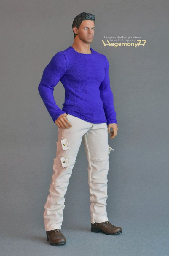 Sixth scale long sleeve XXL T shirt for: Hot Toys TTM 20 size figures
