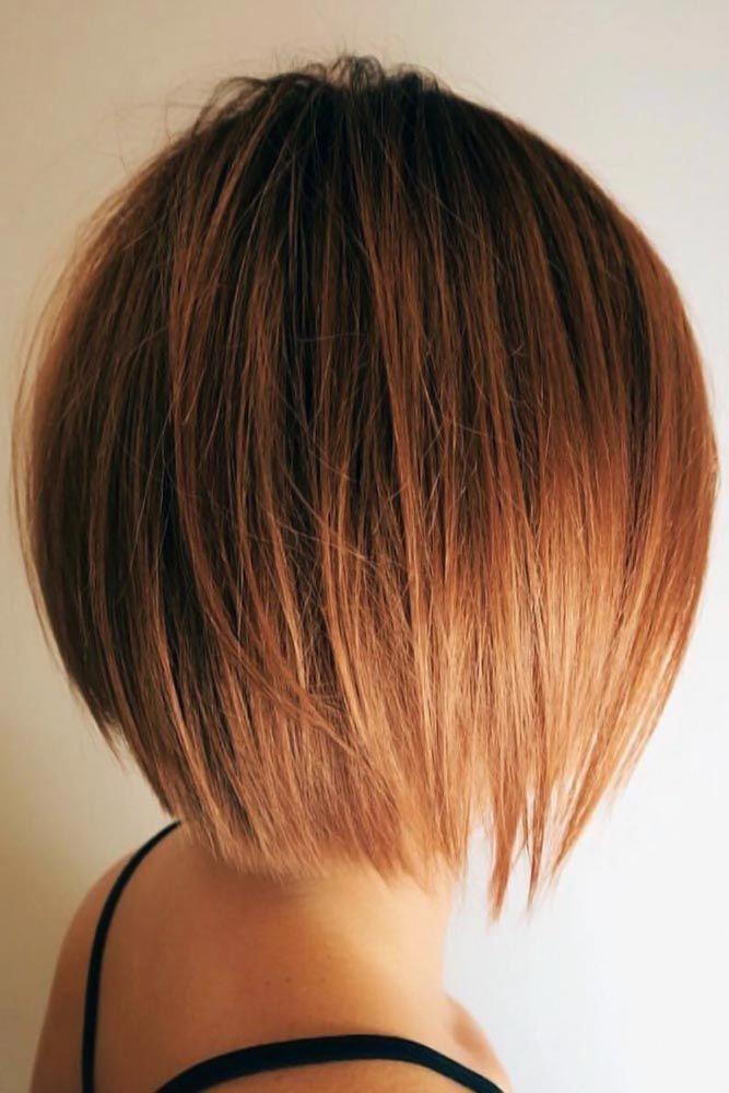 55 Stylish Layered Bob Hairstyles | Bob hairstyles
