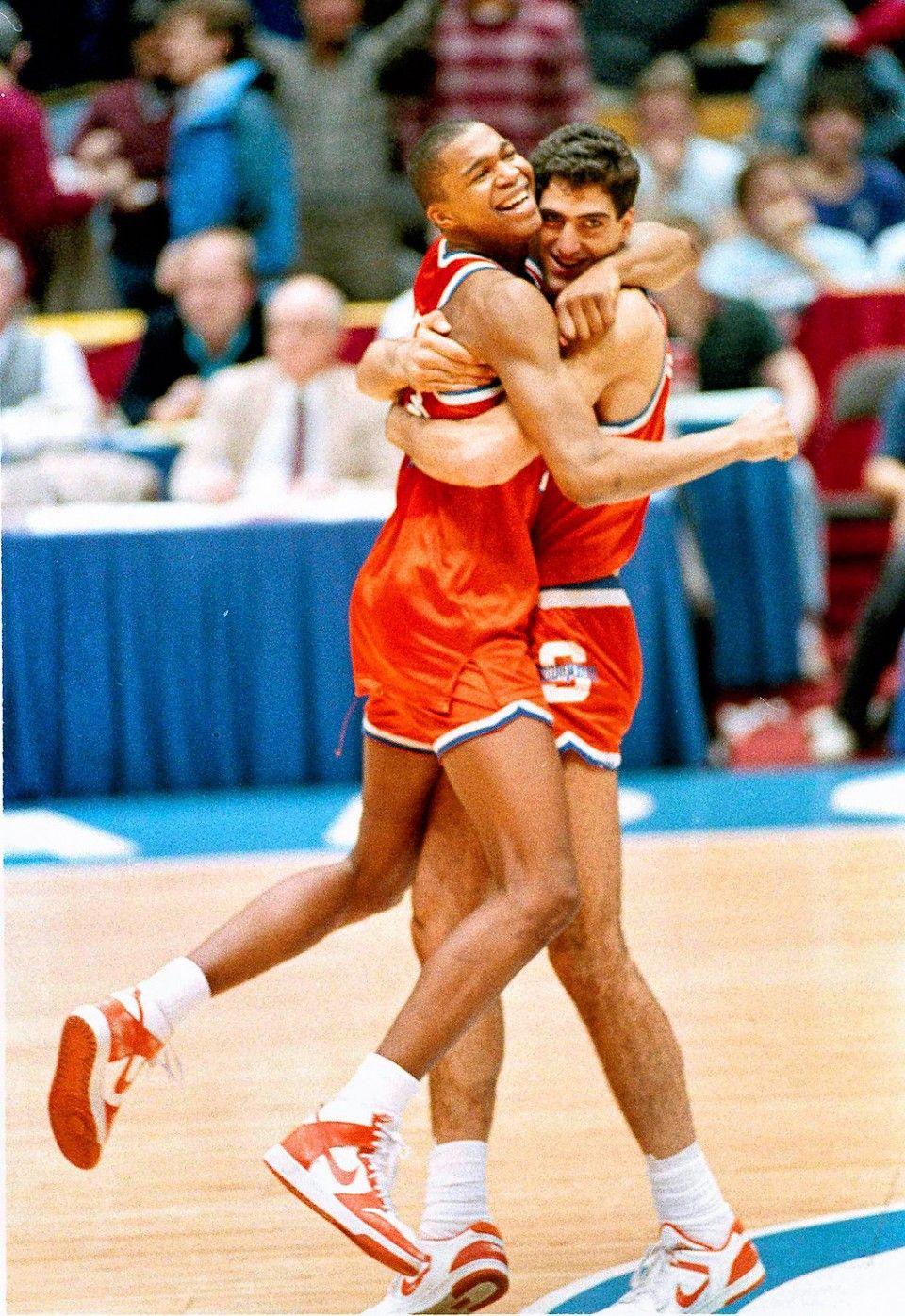 Derrick Coleman & Rony Seikaly Syracuse