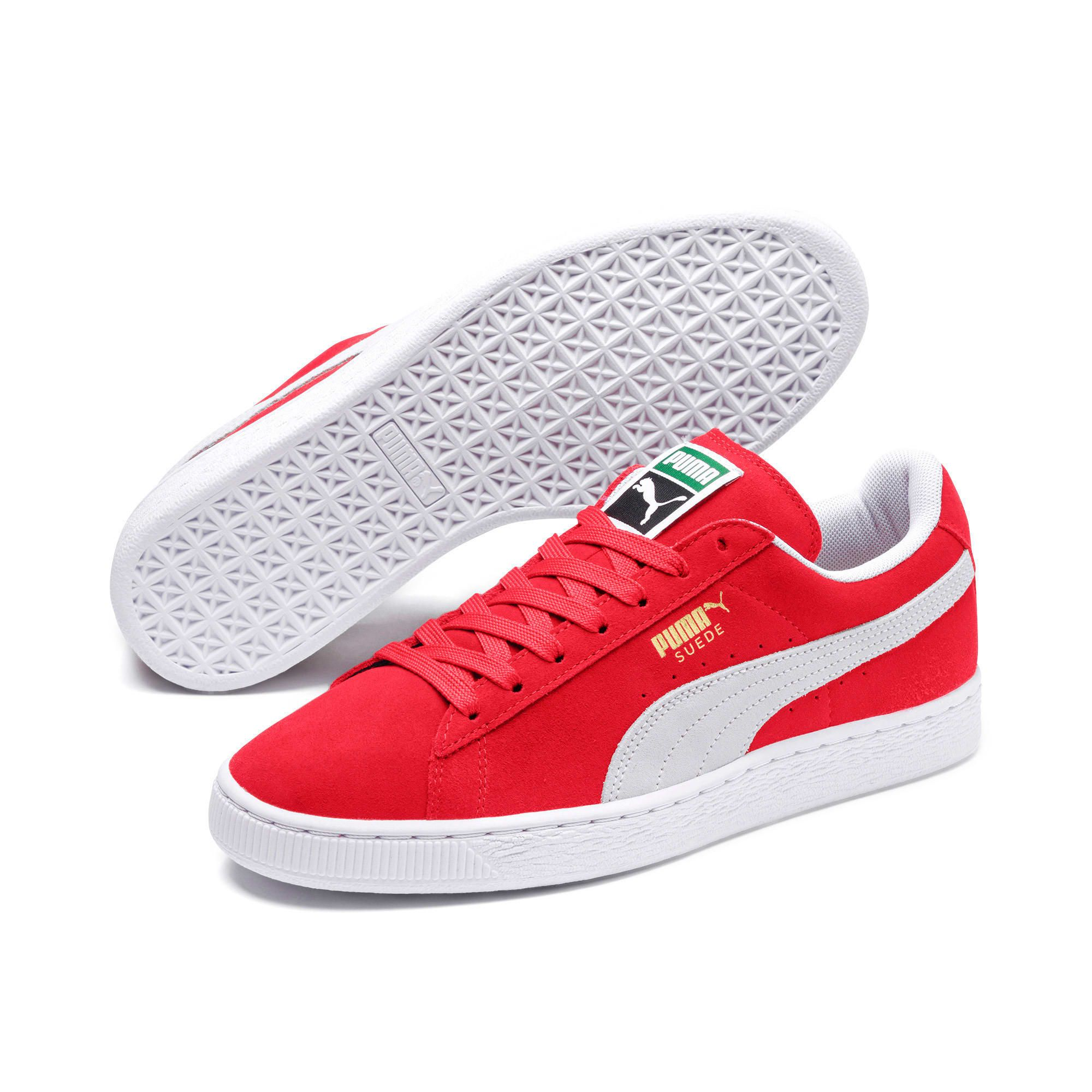 chaussure homme puma rouge