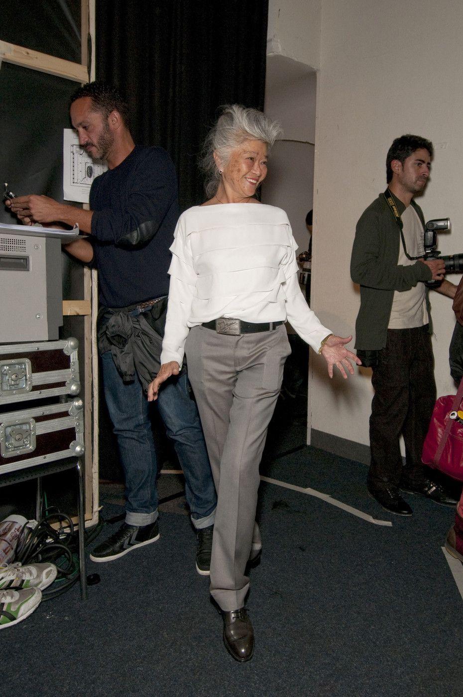 c38d119e0ec Junko Shimada at Paris Fashion Week Spring 2011 - Backstage Runway Photos