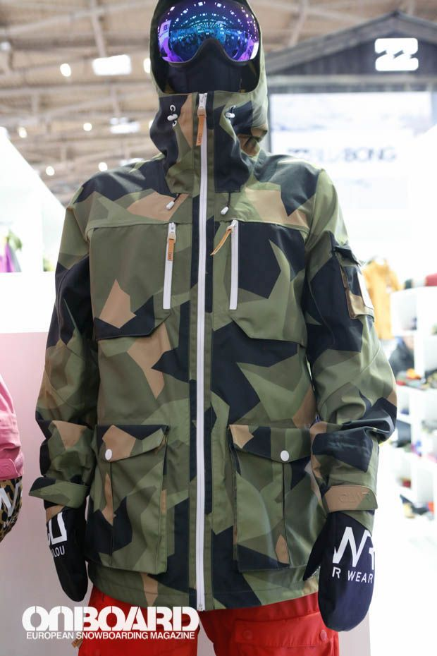 69e355c3d7b5 Colour Wear Camo Snowboard Jacket 2014-2015