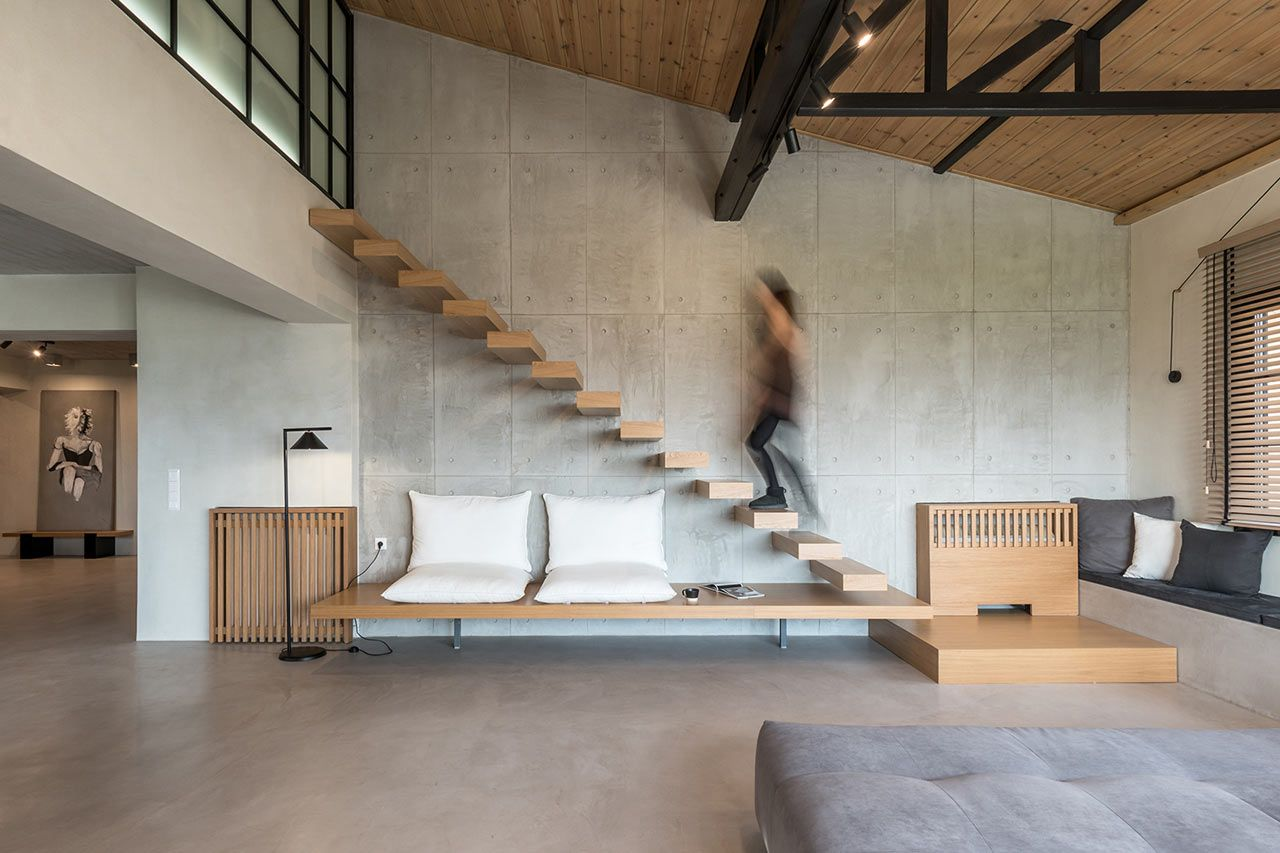 A Rural Apartment In Panorama Greece By Normless Architecture Studio Design Milk Contemporary House Apartment Design Architecture Design