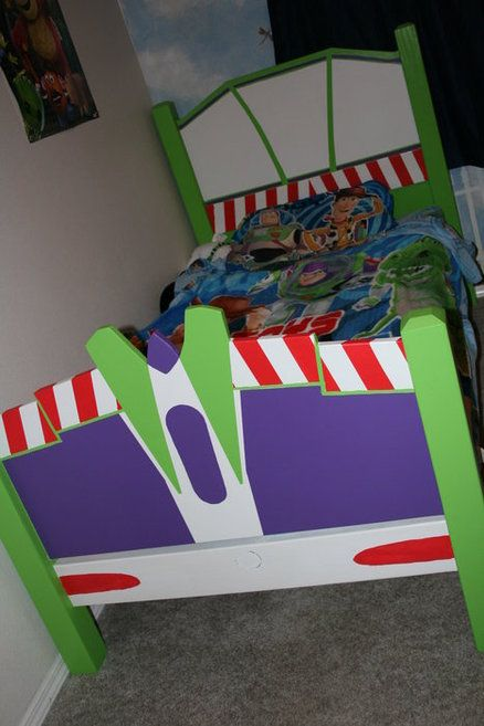 Buzz Light Year Big Boy Bed Toy Story Room Toy Story