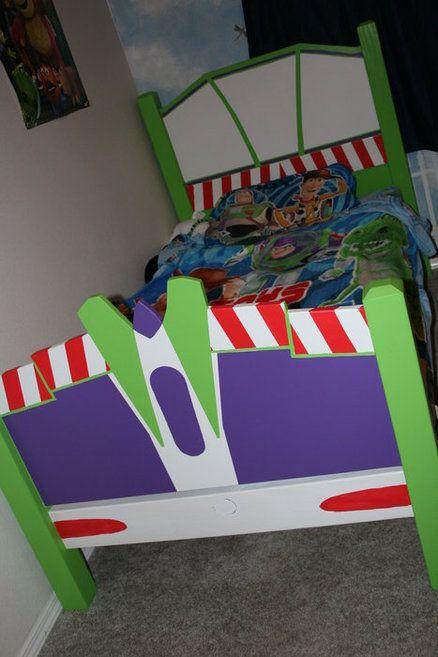 Buzz Light Year Big Boy Bed