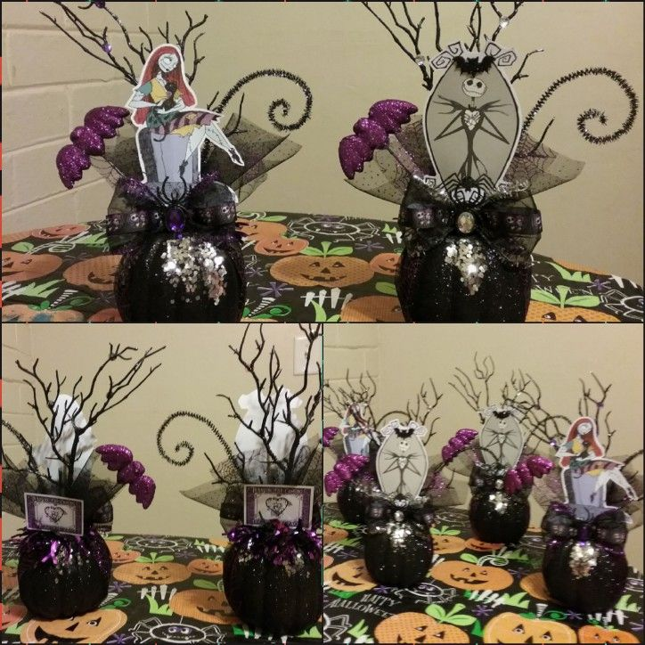 Nightmare Before Christmas Centerpieces Nightmare Before