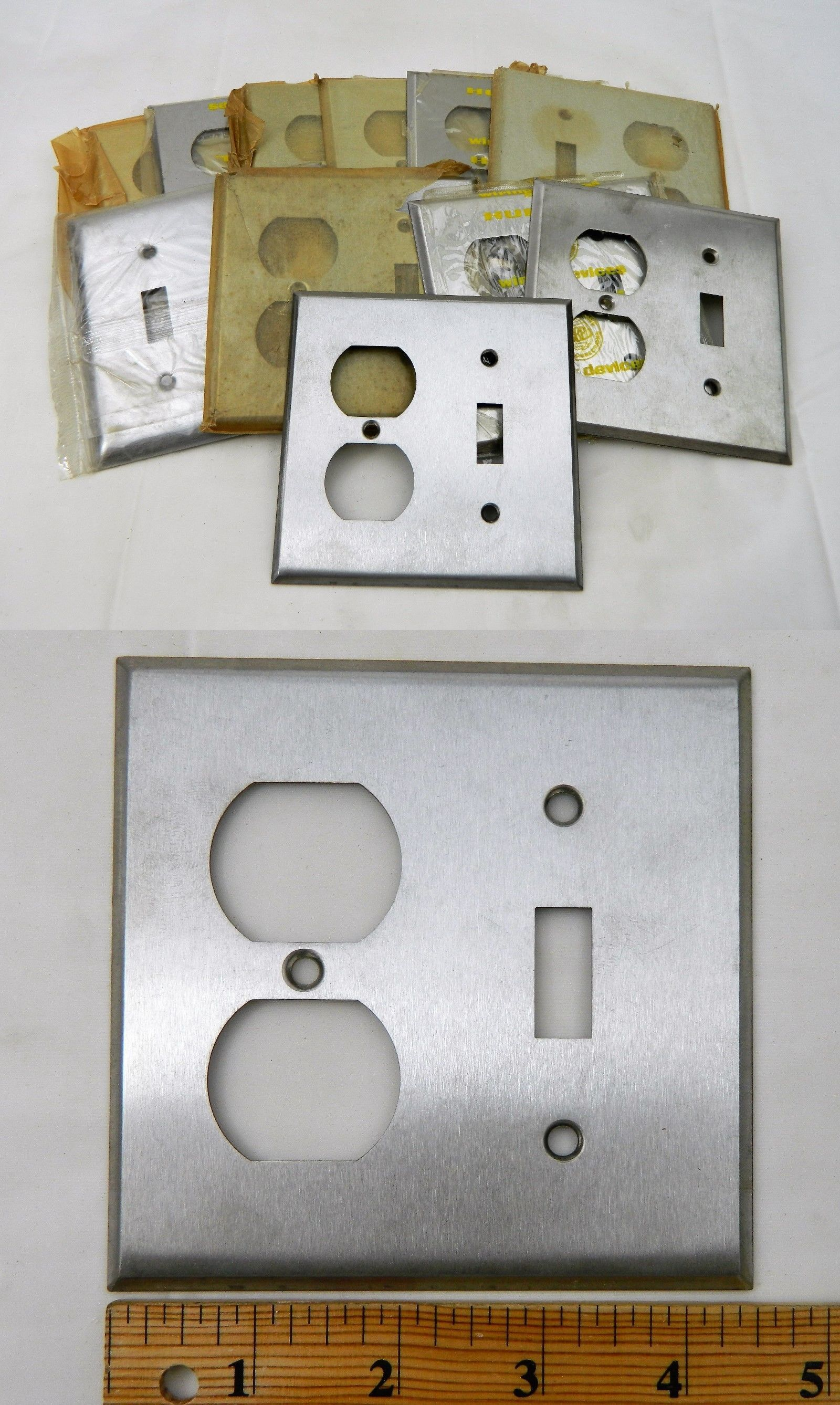 Stainless Steel Outlet Covers Switch Plates And Outlet Covers 43412 10 Metal Stainless Steel 2