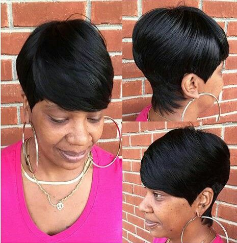 Pixie Cut Weave Hairstyles Hair Color Ideas And Styles For 2018