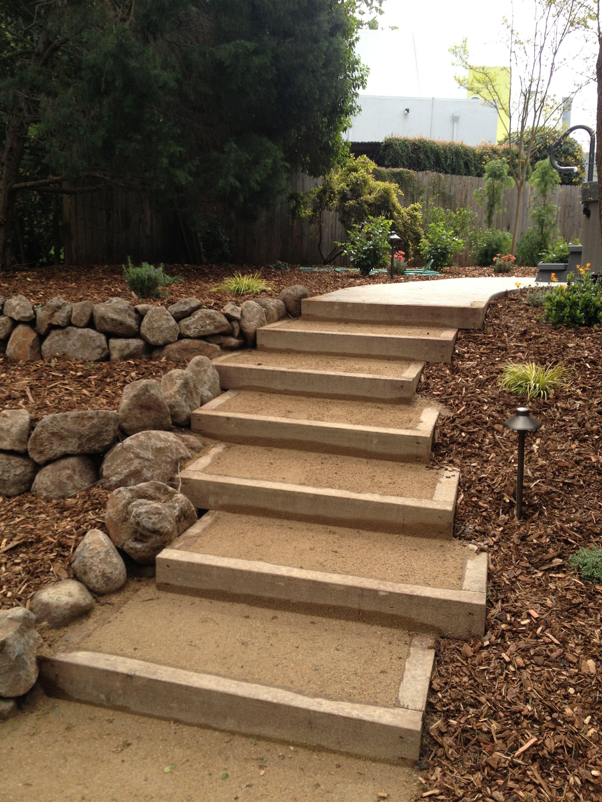 44++ Backyard stairs ideas information