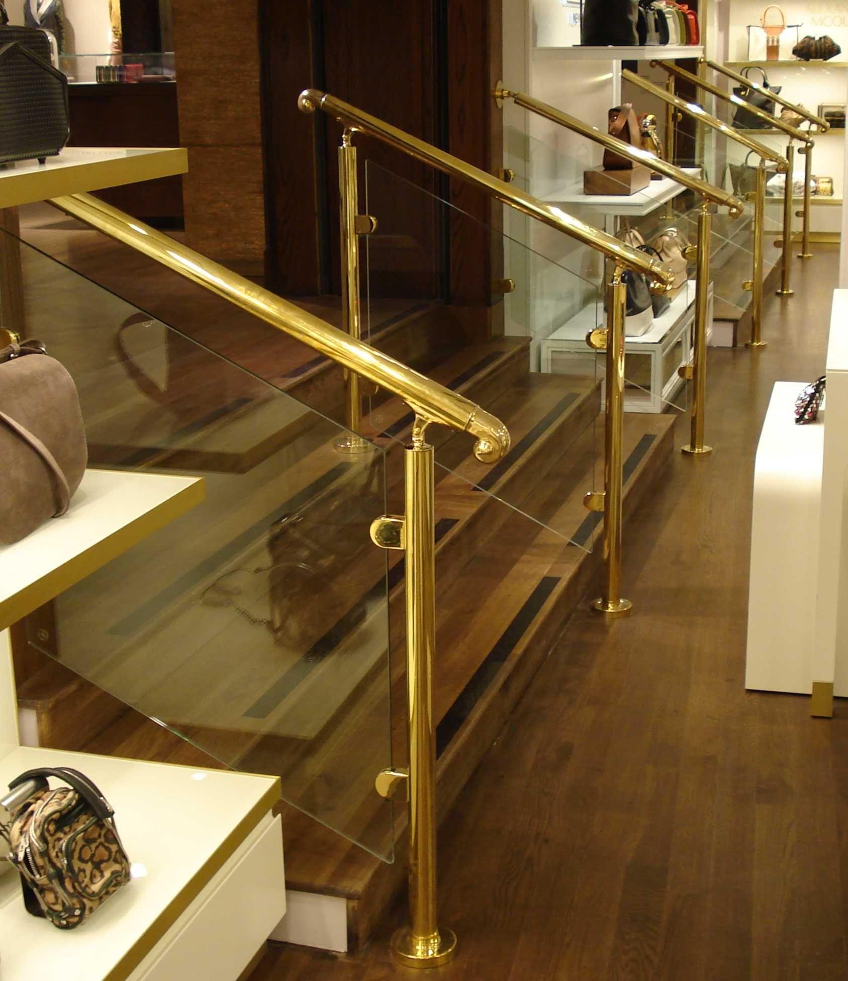 Citadel Brass Handrail and Balustrade System Handrails