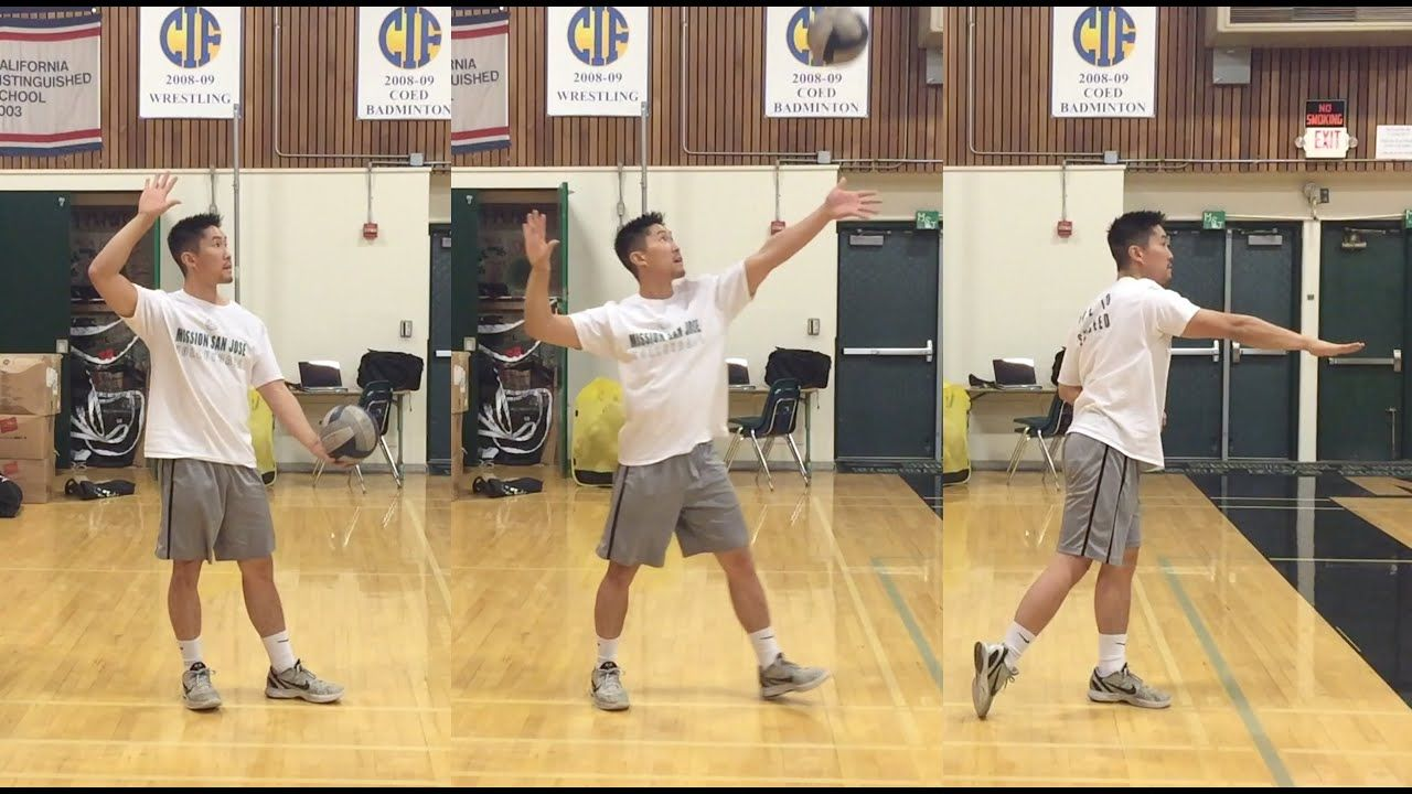 Float Serve How To Serve A Volleyball Tutorial Part 1 3 Youtube Volleyball Training Coaching Volleyball Volleyball