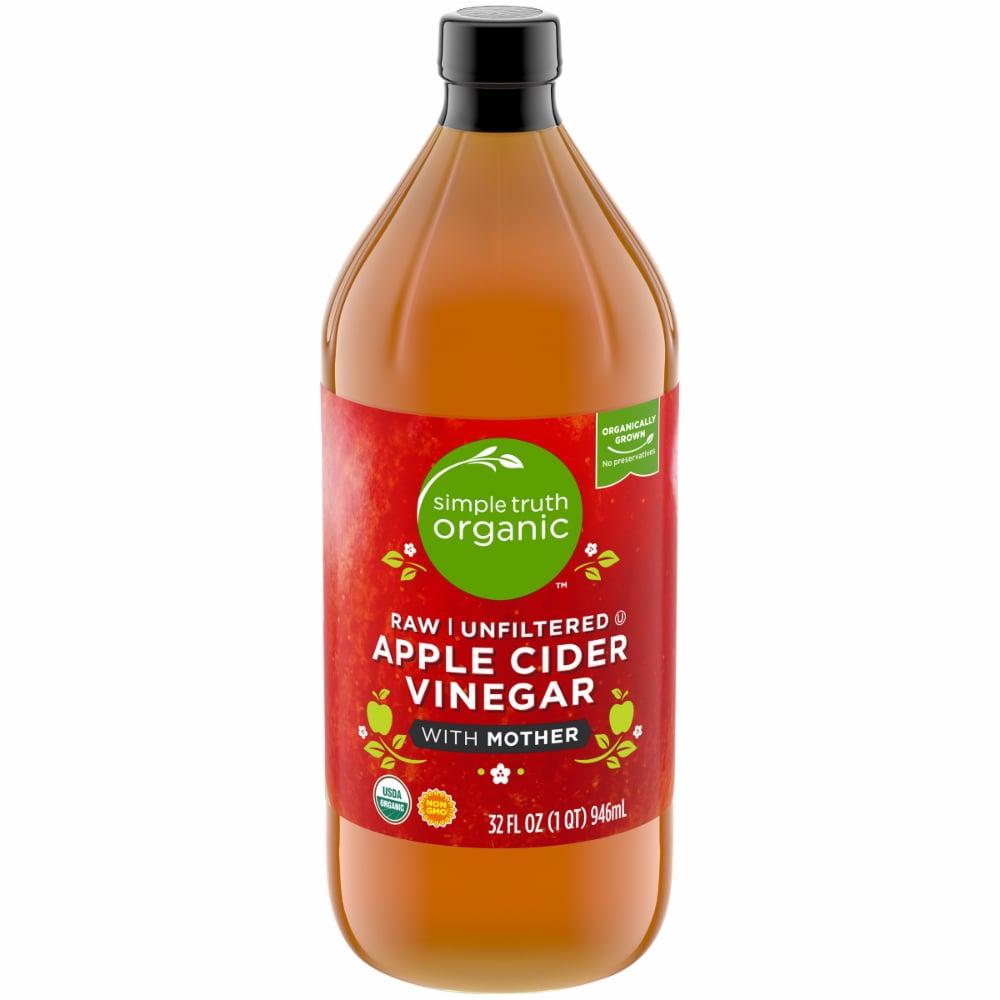 Pick N Save Simple Truth Organic Raw Unfiltered Apple Cider Vinegar W Unfiltered Apple Cider Vinegar Apple Cider Vinegar Mother Organic Apple Cider Vinegar