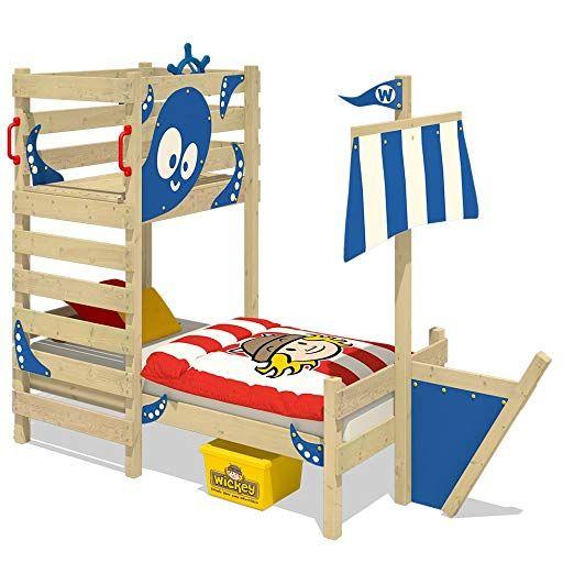 WICKEY AbenteuerBett CrAzY Bounty Kinderbett 90x200