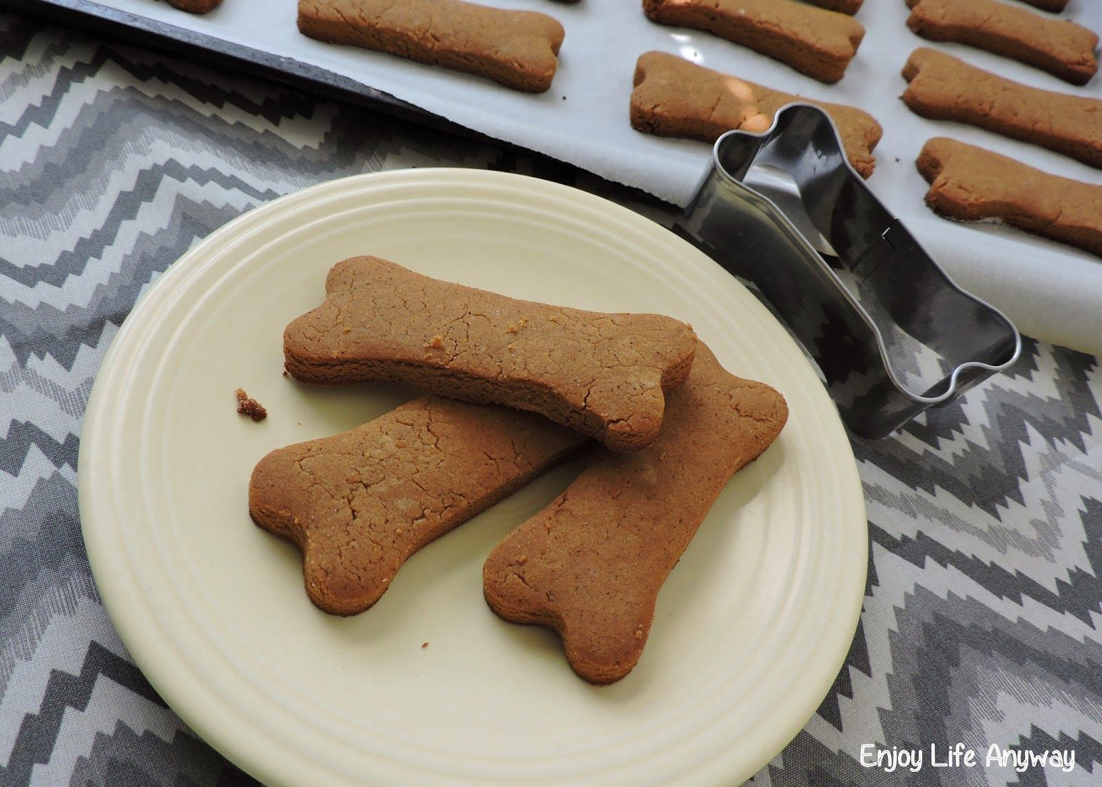 Peanut Butter Molasses Dog Cookies Gluten Free Only 4