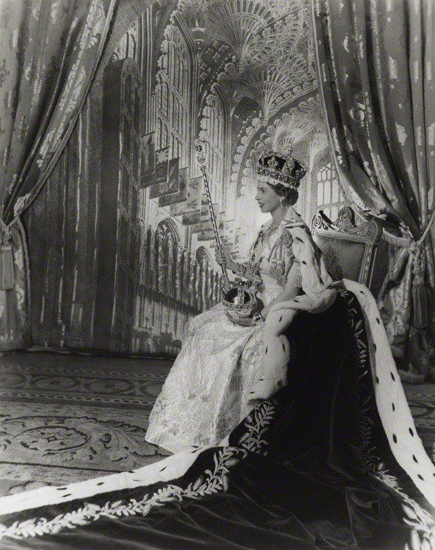 Cecil Beaton, Queen Elizabeth II, 1953