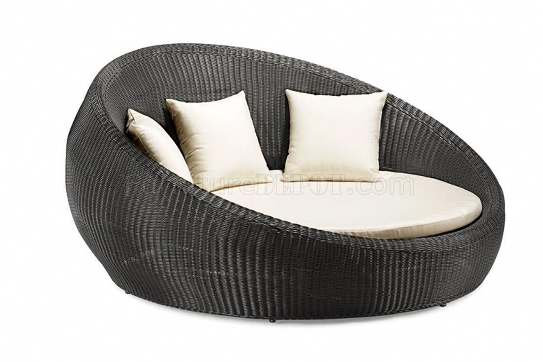 Large Round Cushions For Outdoor Furniture Goods Roundwickerchair