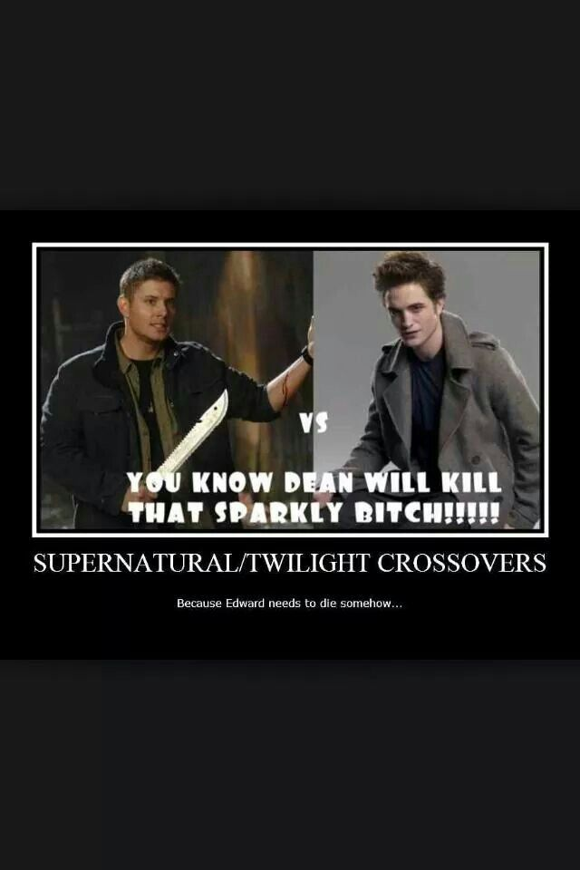 Supernatural Meets Twilight Memes Wwwpicswecom