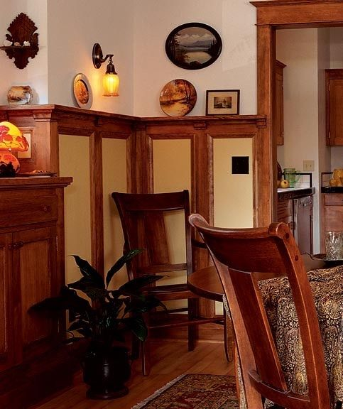Another Lovely Arts And Crafts Dining Room With Board And