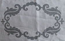 Fab Vtg Leron 45 PC Set Madeira Linen Placemats Napkins Roundels Runner Cutwork | eBay - Google Search