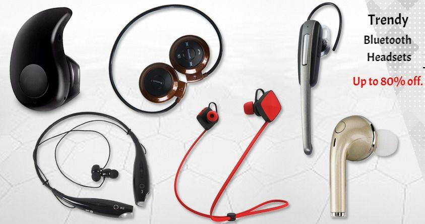 Trendy Collection Of Bluetooth Headsets Online At Fingoshop Extra 8 Off On Online Payment Cash On Delivery Ava Mobile Accessories Headsets Bluetooth Headset