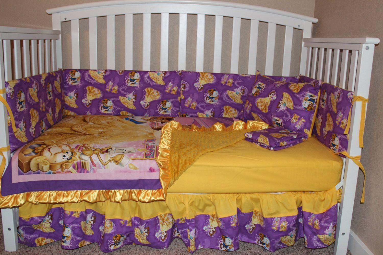 Beauty and the Beast 6 Piece Crib Set