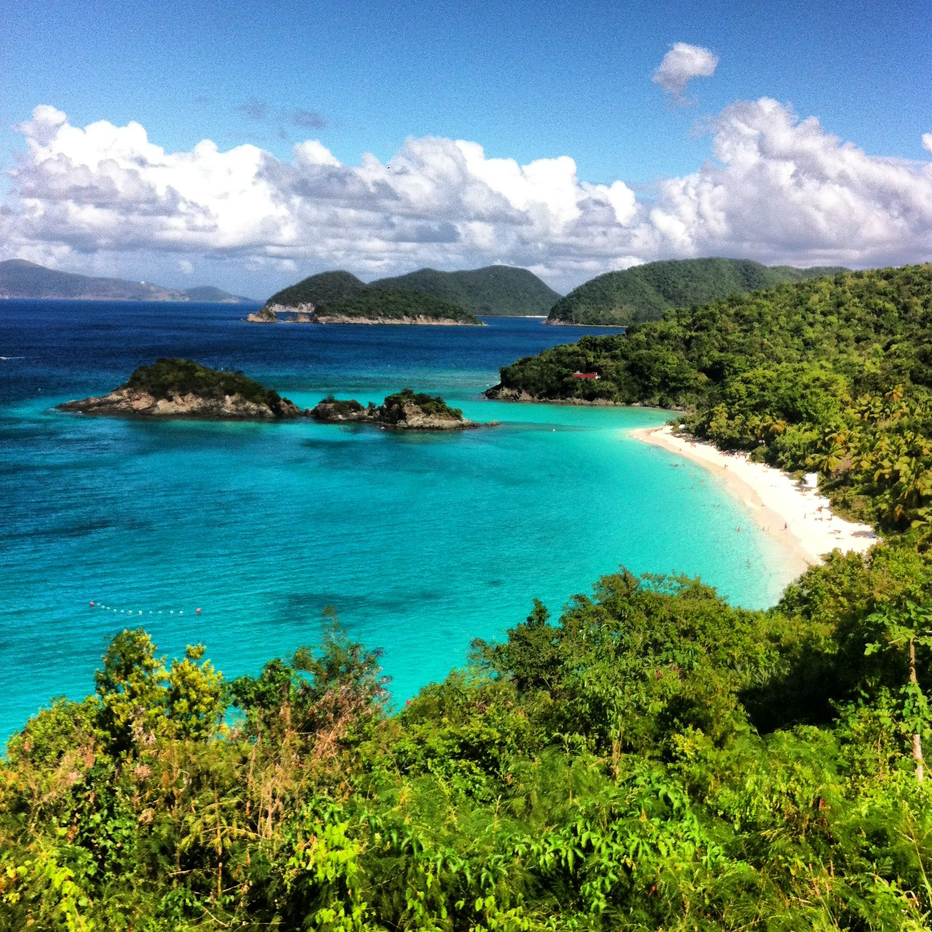 Trunk Bay-St John's, Virgin Islands. The beaches here are stunning!!
