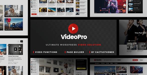 Theme VideoPro 1.3.1.1 – Video WordPress Theme | Download Premium ...