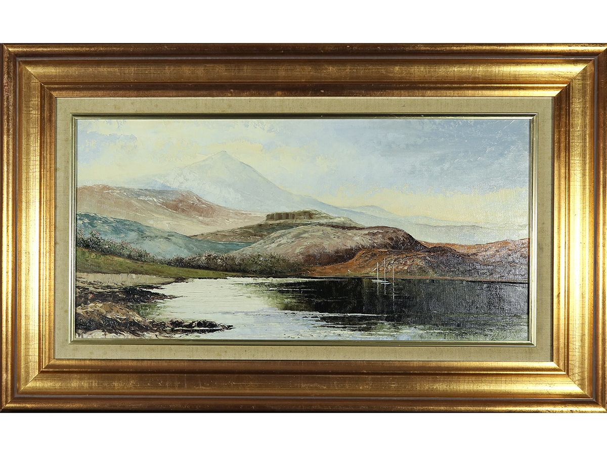 Derwentwater By Dallas K Taylor Original Oil Painting Sold With Images Art Gallery Affordable Art Art