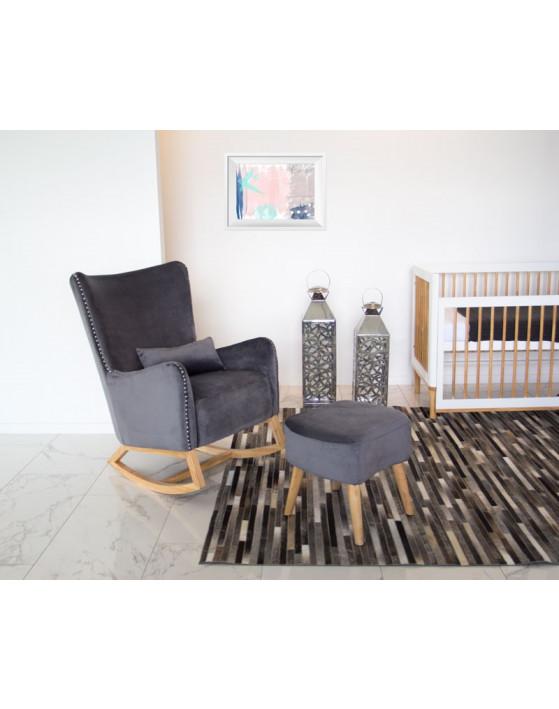Babyhood Valencia Rocker Ottoman Breastfeeding Chair Chair