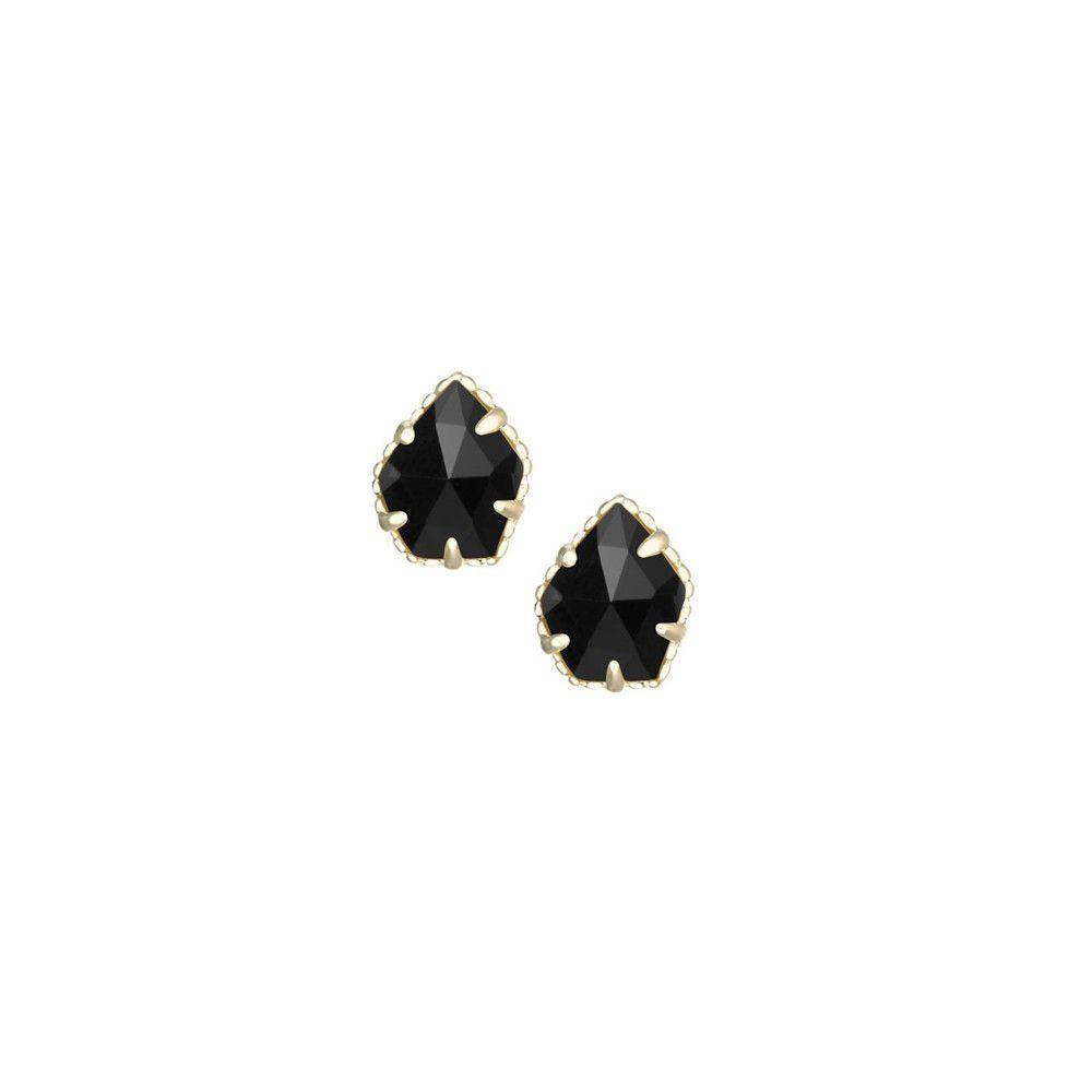 Kendra Scott Tessa Stud Earrings in Black