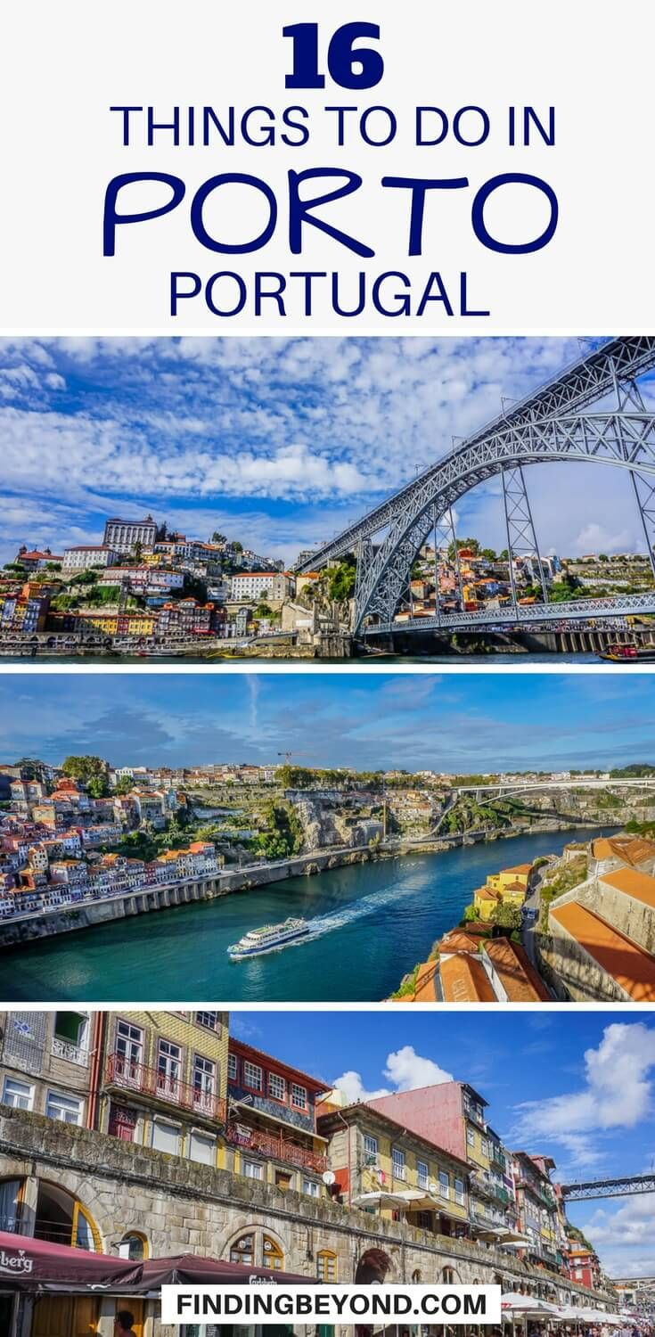 16 Best Things (Must Dos) to do in Porto #traveltoportugal