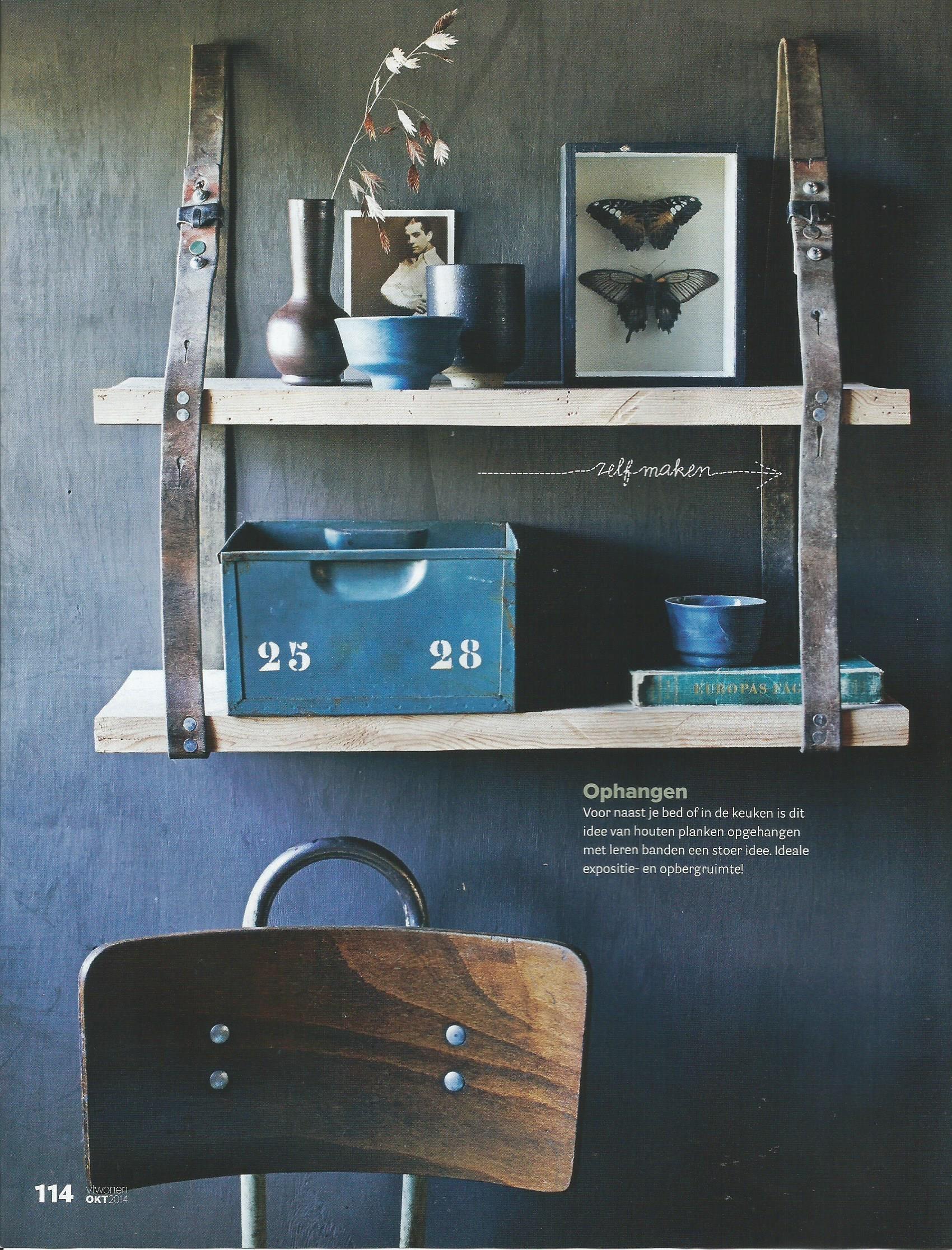 Industrial Interior By Design Magazine VTWonen Vintage Work Chair Brut Amsterdam
